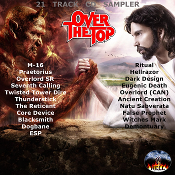 Various Artists - Over The Top (Heaven And Hell Records Sampler 2013)