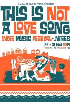 Wooden Shjips - This Is Not A love Song Festival 2014