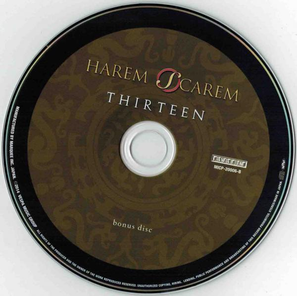 Harem Scarem - Thirteen (2CD) (Japan SHM-CD Edition)
