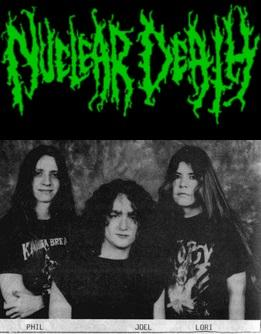 Nuclear Death - Discography