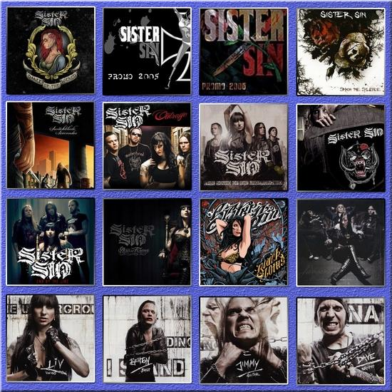 Sister Sin - Discography (2003 - 2014)(Lossless)