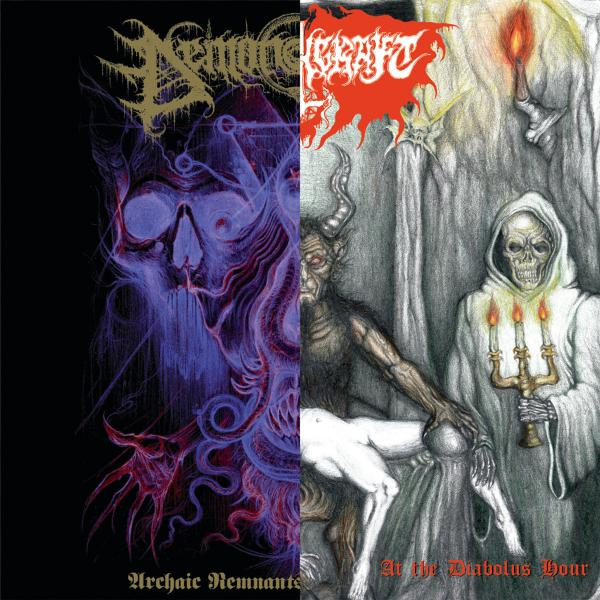 Demonomancy & Witchcraft - Archaic Remnants of the Numinous - At the Diabolus Hour (Split)