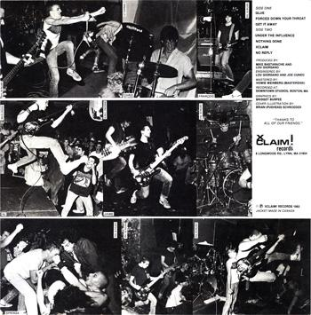 SSD (Society System Decontrol) - Discography (1982-1983)