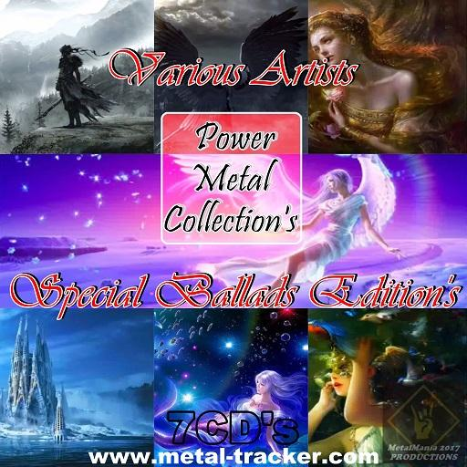 Various Artists - Power Metal Collection's Special Ballads Edition's (Full Collection / 7CD's)