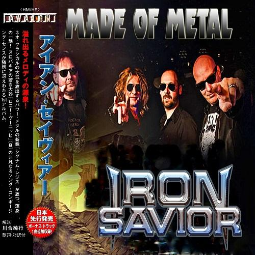 Iron Savior -  Made Of Metal (2CD`s) (Compilation) (Japanese Edition)