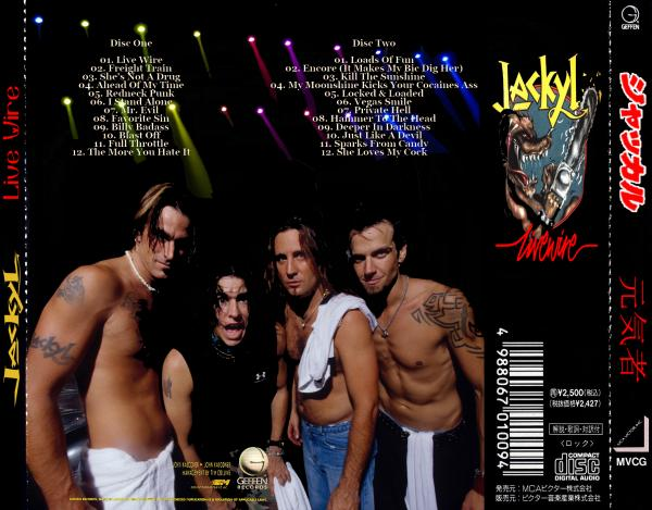 Jackyl - Live Wire (The Best) (Compilation)