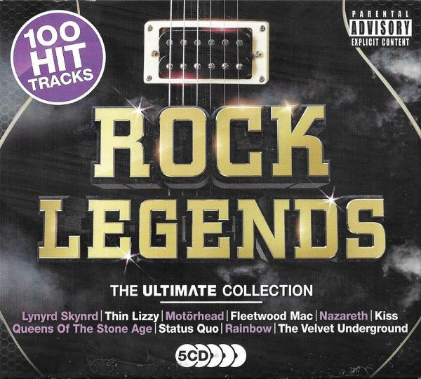 Various Artists - Rock Legends: The Ultimate Collection (5CD)