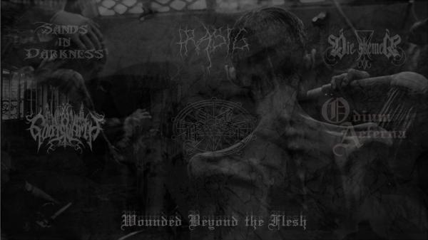Shrine ov Belial - Wounded Beyond the Flesh (Split)