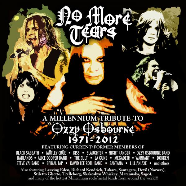 Various Artists - No More Tears - A Tribute To Ozzy Osbourne (3 cd)