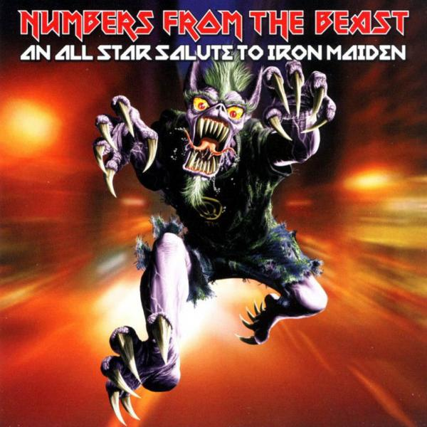 Various artists - Numbers from the beast - An All Star Salute to Iron Maiden