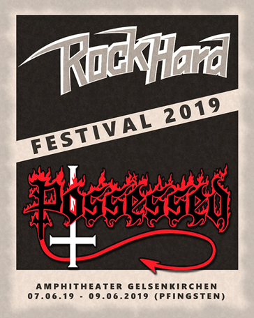Possessed - Rock Hard Festival (Live) (Video)
