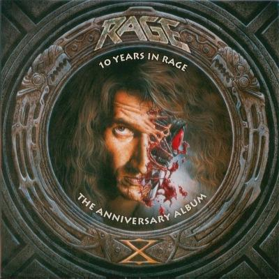 Rage - 10 Years In Rage - The Anniversary Album (Remastered Deluxe Edition, 1994/2019) (2CD) (Lossless)