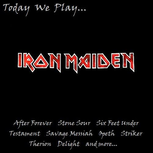 Various Artists - Today We Play... Iron Maiden