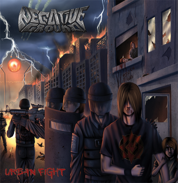 Negative Ground - Urban fight (EP)