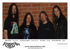 Artisan - feat. members of Abysmal Dawn, Abigail Williams, Falcon - Discography (2003)