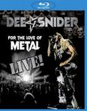 Dee Snider - For The Love Of Metal Live (Live) (Blu-Ray)