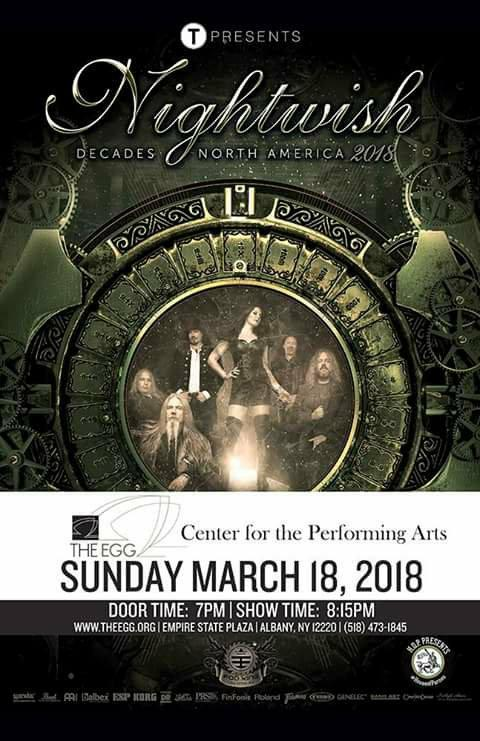 Nightwish - Decades World Tour: Live In Albany (Bootleg