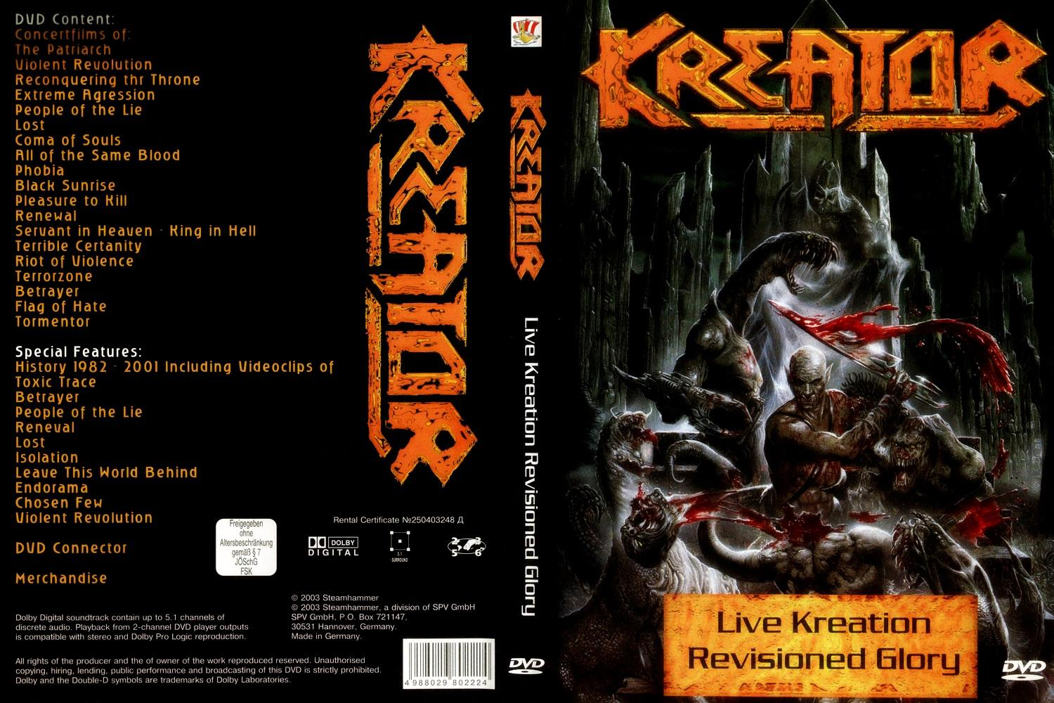 live kreation dvd