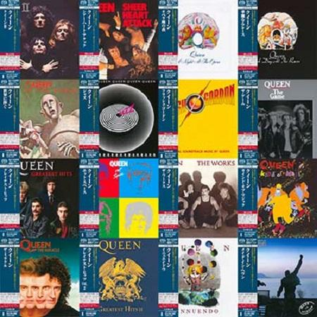 Queen - Discography Remastered (Japan SHM-SACD) (1973-1995